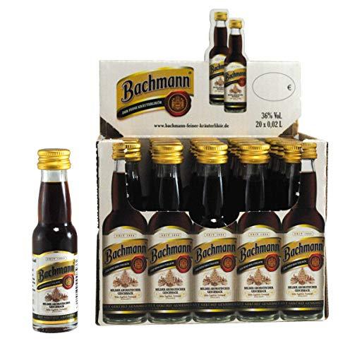 Bachmann feiner Kräuterlikör Kräuter (1 x 0,02 l)
