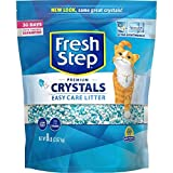 Fresh Step Crystals, Premium, Clumping Cat Litter, Scented, 8 Pounds (3 Pack)