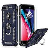 LeYi Coque iPhone 7 Plus/8 Plus,Coque iphone 6s Plus/6 Plus avec Anneau Support, Double Couche...