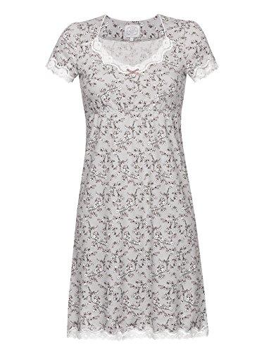 Vive Maria Cherry Blossom Damen Nachthemd Grau Allover, Größe:XS