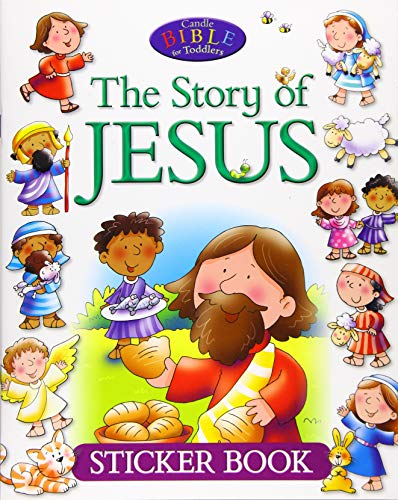 David, J: Story of Jesus Sticker Book (Candle Bible for Toddlers)