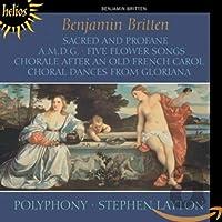 Sacred & Profane/a.M.D.G. & Other Choral Works