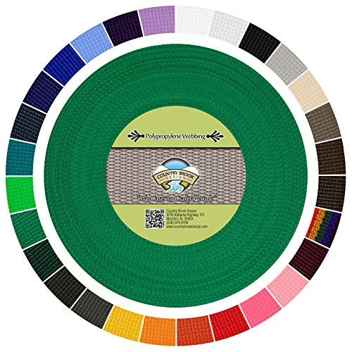 Country Brook Design - 1 Inch Kelly Green...