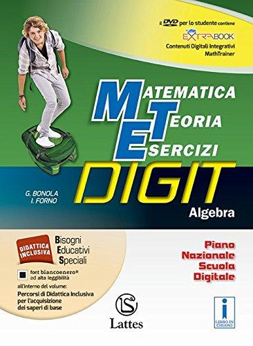 Matematica teoria esercizi digit. Algebra. Mi preparo-Quaderno competenze e operativo. Per la Scuola media. Con DVD-ROM. Con e-book. Con espansione online (Vol. 3)