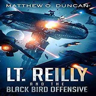 Lt. Reilly and the Black Bird Offensive audiobook cover art