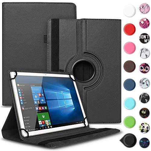 UC-Express Tablet Schutzhülle kompatibel für Archos 70 Xenon - Oxygen Tasche aus hochwertigem Kunstleder Hülle Standfunktion 360° Drehbar Cover Universal Hülle, Farben:Lila