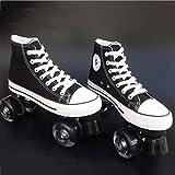 AA- skates LBX Toile Adulte Double rangée de Patins à roulettes...