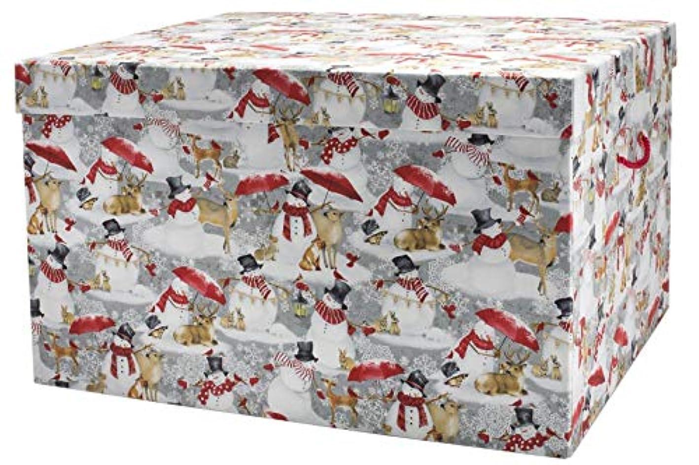 Ultimate Ornament Chest - Let It Snowman, Acid-Free Ornament Storage Box