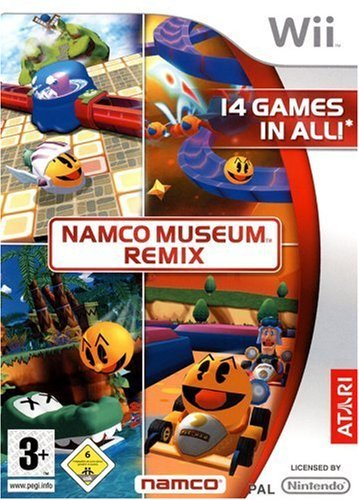 NAMCO Museum: Remix (Wii) by Atari