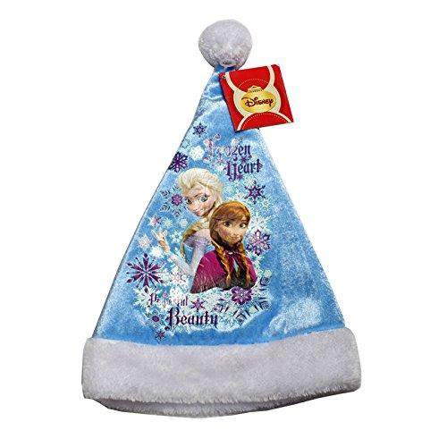 Générique - NO2910 - Bonnet De Noel Enfant Reine des Neiges - Elsa Et Anna - 26 X 39 Cm
