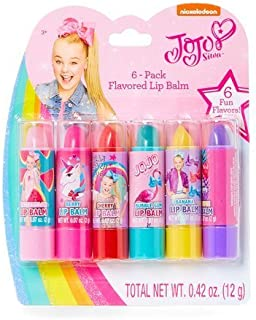 Nickelodeon JoJo Siwa 6 Pack Flavored Lip Balms
