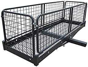 Erickson 07496 Cargo Carrier with Sides (Folding, 500 lb. Rated)