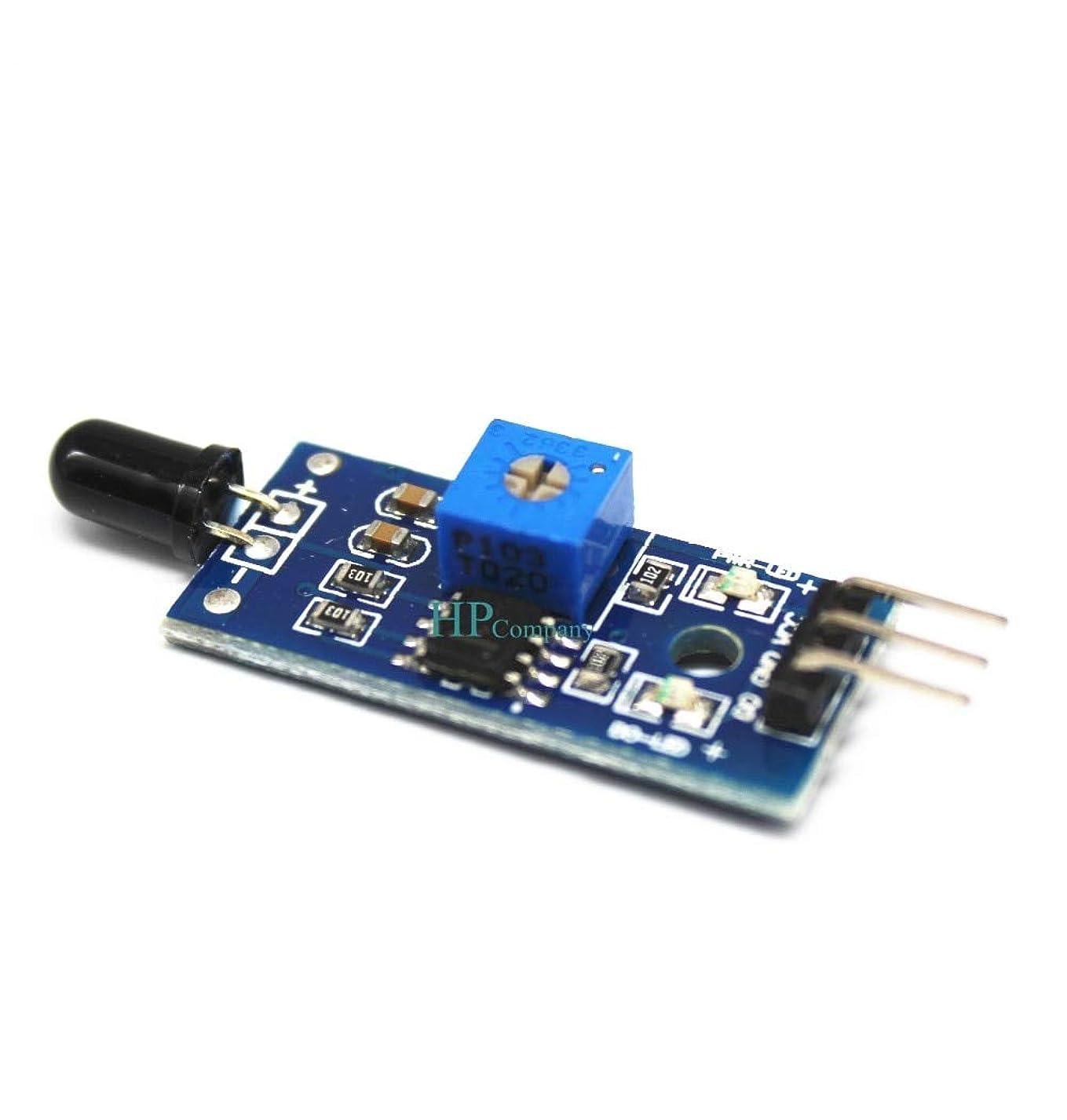 売り手バンケット先にWillBest 100PCS 3 Wire Flame sensor module Fire source detection module infrared receiver module