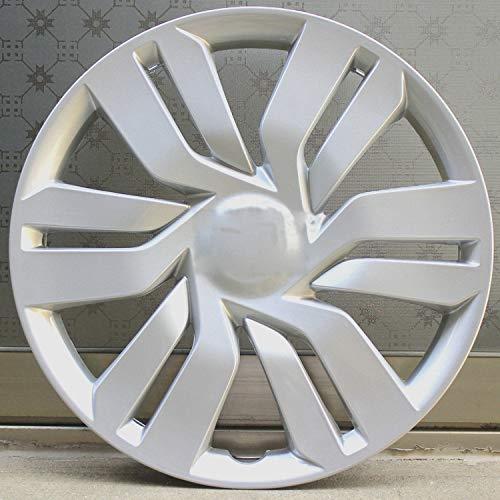 EET 15 Pulgadas Set Tapacubos, Ajuste Universal para La Mayoría De Los Vehículos Fashion Plata Mate Car Parts Wheel Trims Fundas, Juego De 4