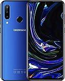 DOOGEE N20 2019 Android 9.0 Cellulare Offerta, Octa-core 4 GB RAM 64 GB ROM Cellulari Economici Dual SIM 4G Smartphone, 6.3 Pollici FHD+ Display, Telecamera 16MP+8MP+8MP+16MP, 4350 mAh - Blu