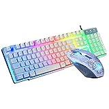 Meccanico RGB Gaming Keyboard - L-E-D retroilluminato Multim