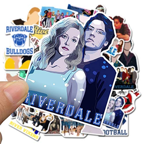 50PCS Riverdale TV Show Stickers Fans Anime Vintage Paster Cosplay For Case Suitcase Luggage Guitar Laptop Children Toys F4
