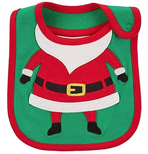 Carter's Just One You Baby Christmas Bib Boy/Girl (Baby Santa)