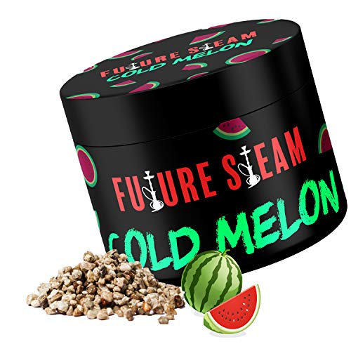 Futuresteam Dampfsteine in verschiedenen Geschmacksrichtigungen 150g, Shisha Steine mit langanhaltendem Geschmack, Wasserpeifen Geschmacksteine (Cold Melon)