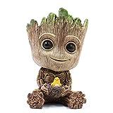 thematys Baby Groot Pot de Fleur - Figurine d'action pour Plantes et stylos du Film...