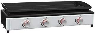 Silverstyle - 001933 - Plancha gaz 3kw Plaque Acier 'maill' 81x33cm