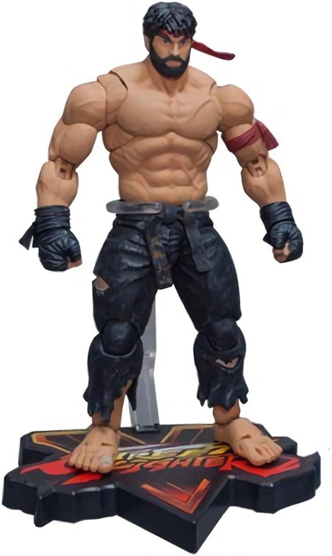 Street Fighter V Hot Ryu Black Pants Figure  NYCC 2017 Exc.