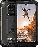Telephone Portable, DOOGEE S59 Pro 10050mAh Batterie 2W Super Haut-parleur Téléphone Portable Incassable 4 LED Clignotant Bande de Fréquence Globale 128 Go ROM NFC IP68 / IP69K Smartphone, Noir
