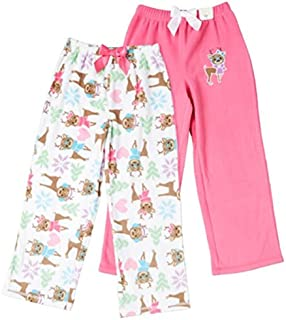 Image of 2 Pack Adorable Reindeer Pajama Pants for Girls - See More Designs