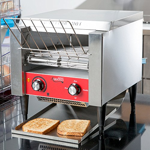 Conveyor Toaster T140 Heavy Duty Stainless Steel 3' Opening 120V Commercial