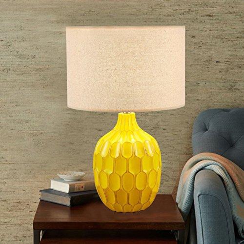 Zytyek Schreibtischlampe Amerikanische landwirtschaftliche Einfache Pastoral Personality Tischlampe Wohnzimmer Schlafzimmer Nacht Studie dekorative Tuch Lampe Schreibtischlampe
