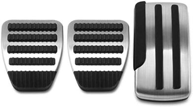 3 TEILE//SATZ Universal Edelstahl Schaltgetriebe Rutschfeste Auto Pedalabdeckung Set Kit Car Styling Pedale