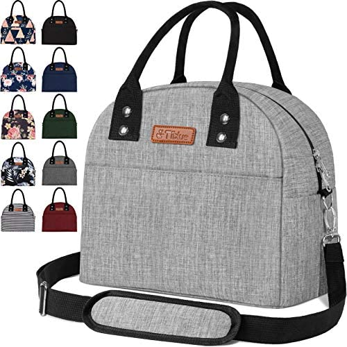 Reusable Insulated Cooler Lunch Bag Portable Lunch Box for Office Work School Picnic Beach Workout product image