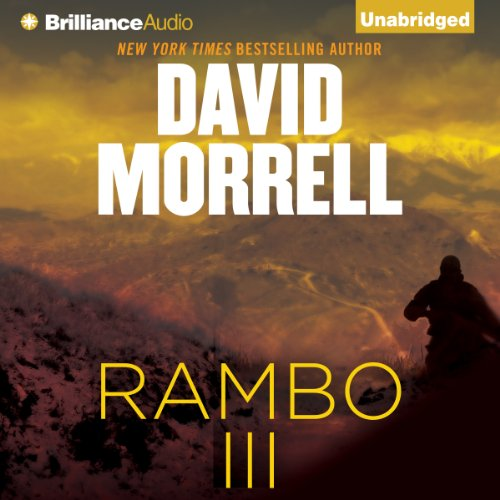 Rambo III audiobook cover art