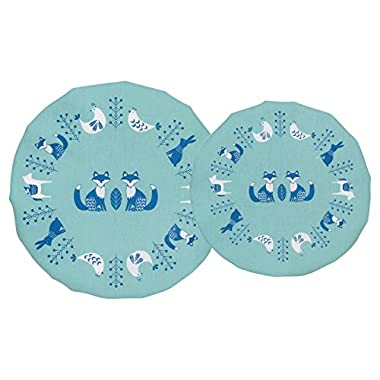 Now Designs Cotton Bowl Covers, Set of Two, Meadowland