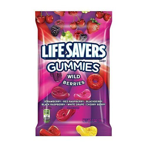 Life Savers Gummies Wild Berries 7 Oz. (Pack of 2)