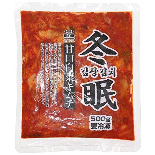 徳山物産 冬眠キムチ 冷凍 500g 袋  冷凍
