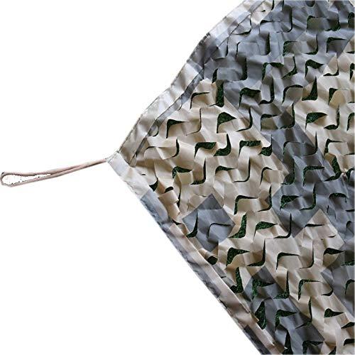 YHZHUI Militaire Thema Decoratie Zonnescherm Camping Desert kleur camouflage net, opvouwbare dubbele rand camouflage net voor zonwering/cover berg/anti-vliegtuigen/militaire fans