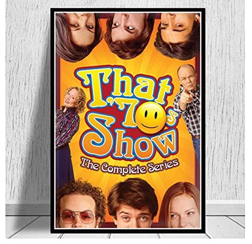 liuyushuo Poster Das 70S Tv Series Show Filmplakat Und Druckt Wandkunst Leinwand Malerei Bilder Wohnzimmer Home Decor 50X70 cm No Frame