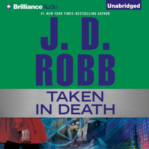 Taken in Death audiobook cover art