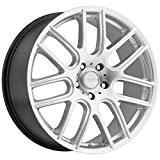 Vision 426 Cross Hyper Silver Wheel with Painted Finish (18x8'/5x110mm)