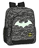 Safta 612004640 Mochila Escolar Junior de Batman Night, 320x120x380mm