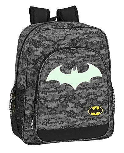 Safta 612004640 Mochila Escolar Junior de Batman Night, 320x120x380mm