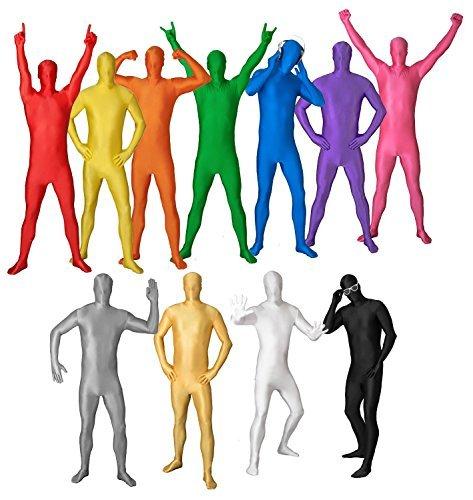 Funsuits ORIGINAL Bodysuit Kostüm Größe S M L XL XXL verschiedene Farben Grün [XL]