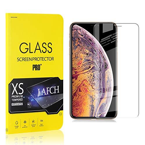LAFCH Panzerglas Schutzfolie für iPhone 11 Pro Max/iPhone XS Max, 1 Stück Ultra Klar Glas Displayschutzfolie für iPhone 11 Pro Max/iPhone XS Max