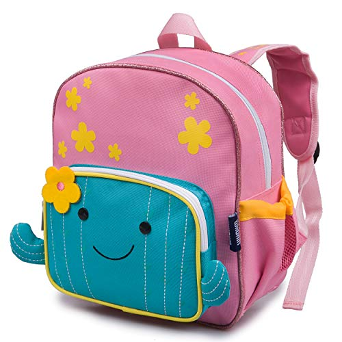 Wildkin Wild Bunch Backpack for Toddler Boys & Girls, Ideal Size for Daycare, Preschool, & Kindergarten, Perfect for School and Travel, Kids Backpacks Measures 11.75 x 10 x 4.25 Inches (Cactus)