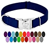 Country Brook Design - Vibrant 25 Color Selection - Premium Nylon Dog Collar...