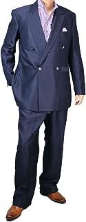 [UNITED GOLD] ダブルスーツ メンズ パーティースーツ ドレススーツ ゆったり ツータック 117871 4.5.7.8