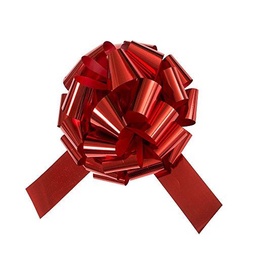 Unique Party Supplies 63603 Riesige rote Autoschleife - 45 cm