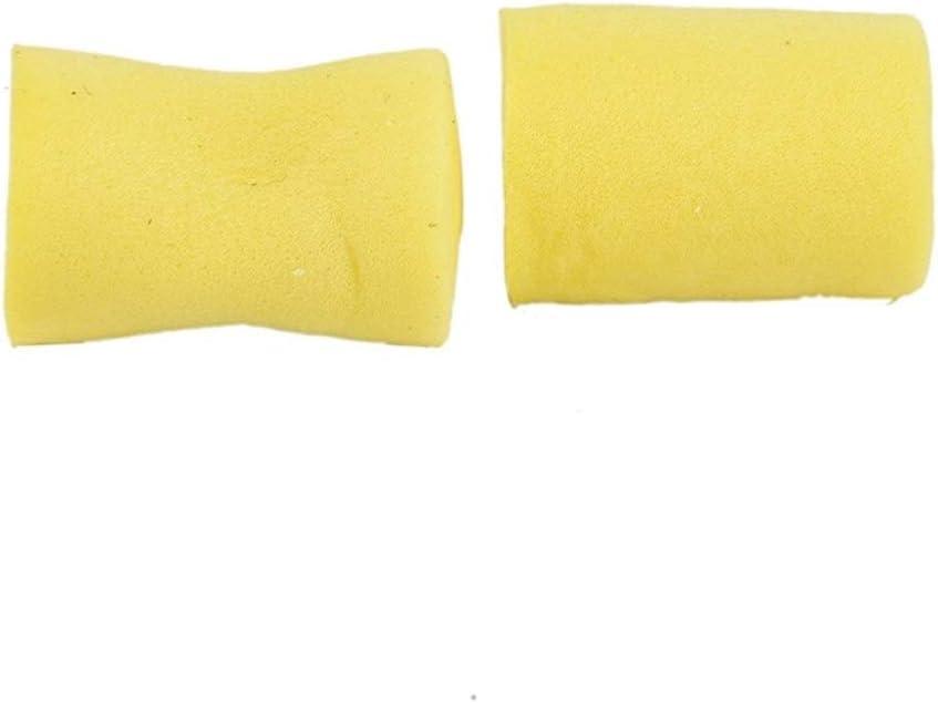 BLTR Fuerte 10 Pares ronquido a Prueba de oído del sueño Protector sin Cables Espuma Suave Tapones for los oídos for Dormir Protección auditiva De Viajes Durable (Color : Yellow)