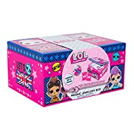 Create Your Own Mosiac Jewellery Box for Girls - A great place for all a girls important keepsakes and jewellery LOL Surprise Gift Included, plus stickers and gemstones to decorate and make something extremely unique Perfect keepsake for all her jewe...